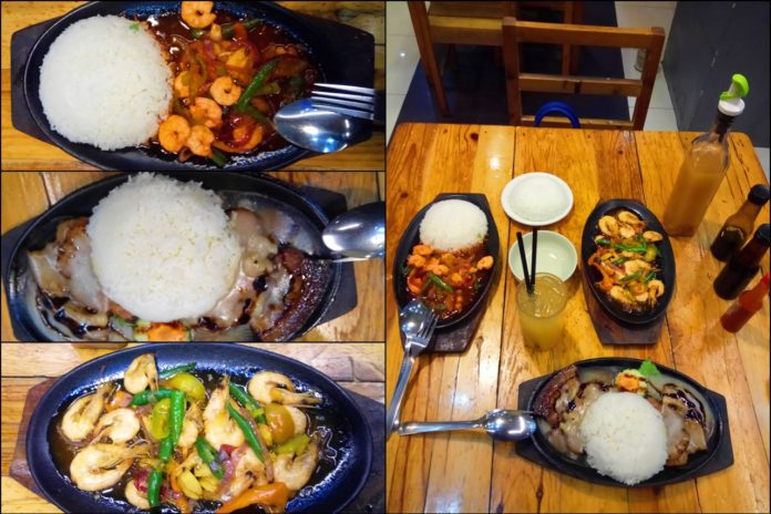 Popoy's Sizzlers Meals