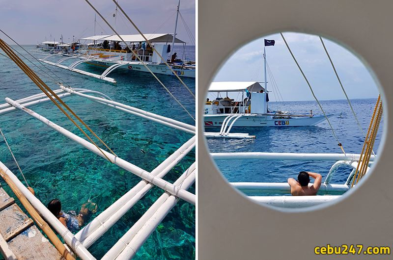 island hopping banca cruise cebu travel