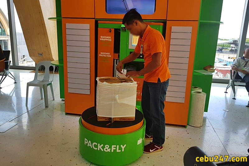 pack&fly baggage wrap cebu airport