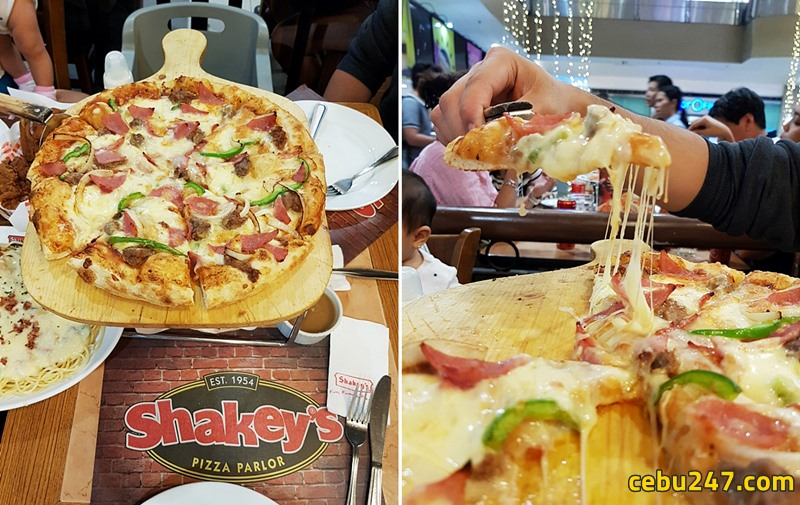 shakeys pizza cebu sm
