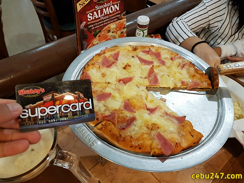 shakeys supercard discount