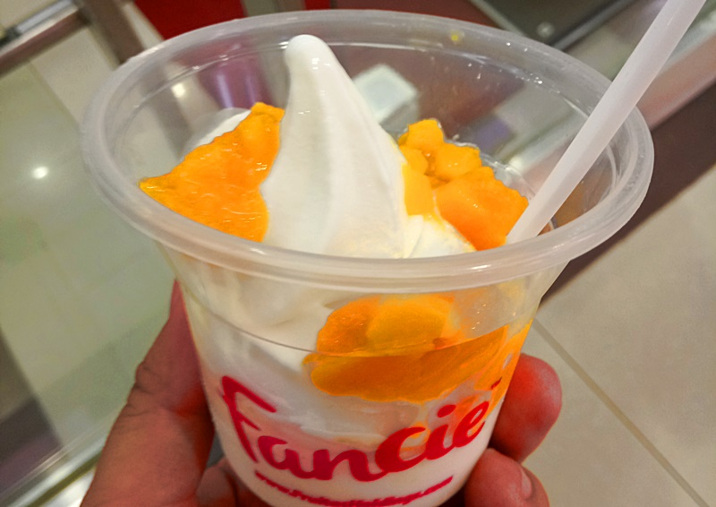 Fancie Frozen Yogurt Mango Topping