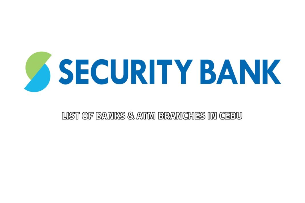Security Bank Branches in Cebu