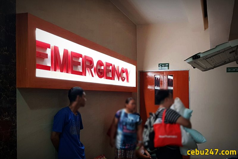 emergency in vicente sotto hospital