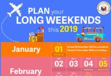 philippines long weekends