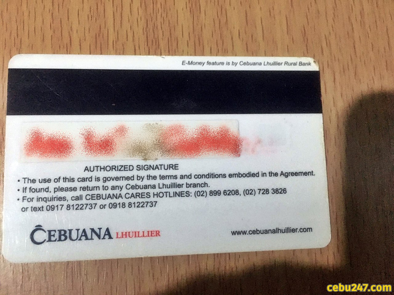 cebuana microsavings account