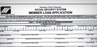 how to apply sss loan