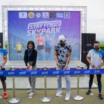 opening of stay fit at the park sm seaside cebu